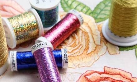 How to Get Better Results with Metallic Thread