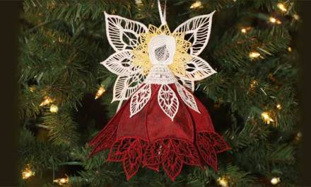 2012 Heirloom Poinsettia Angel