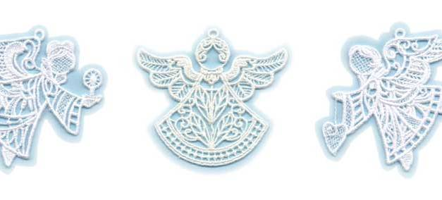 Angels Among Us: Create Exquisite Free-Standing Lace Angel Ornaments