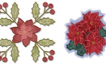 December Echidna P.I.E – Holly & Poinsettia