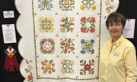 My Birth Month Flowers of the Year Quilt WON!!!