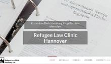 Screenshot Refugee Law Clinic Hannover e.V.