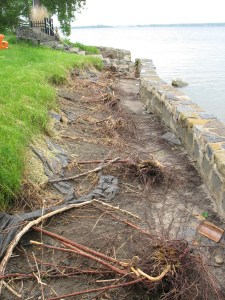 Lake Champlain Shoreline erosion