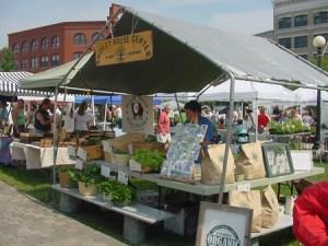 Middlebury Vermont farmers market
