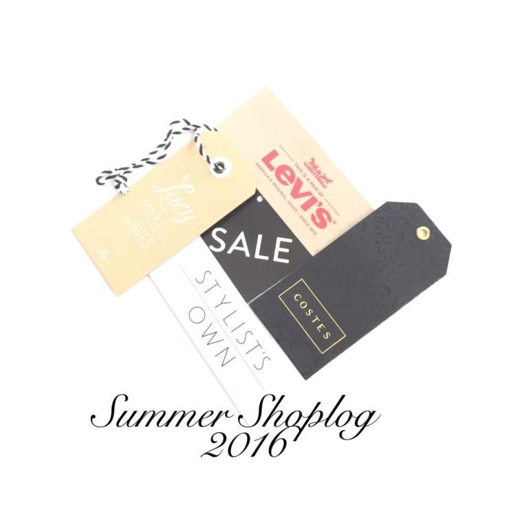 Summer Shoplog 2016