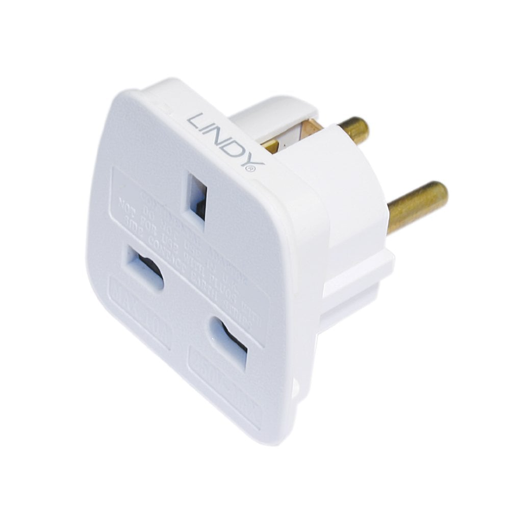 Travel Adapter Eu To Uk Uk To Euro Adapter Travel Plug White