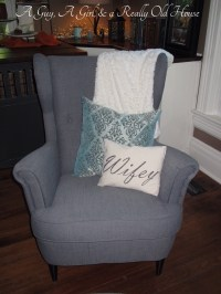Chair Pillows | A Guy, A Girl, and a Really Old House!