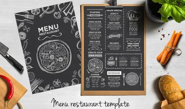 45 Menu Design Projects for Creative  Fun Restaurants - sample restaurant brochure