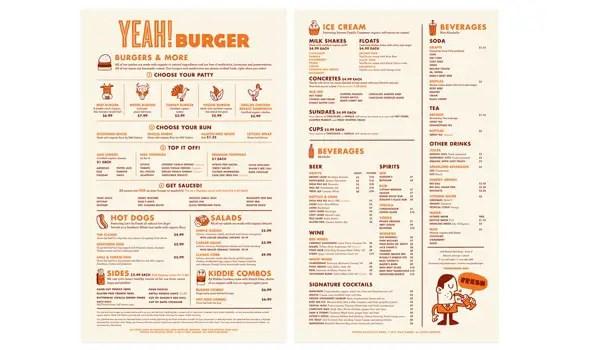 45 Menu Design Projects for Creative  Fun Restaurants