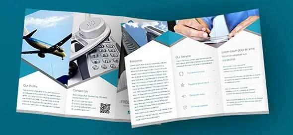 40 Print-Ready Brochure Templates Free and Premium