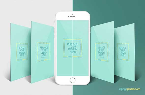 40 Sleek Free App Screen PSD Mockups