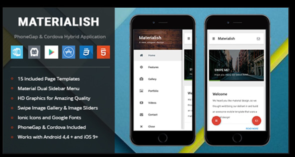 22 Native Web App Templates You Should Use