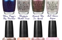 opi, opi muppets, opi muppets 2014, opi muppets most wanted, muppets nail polish, opi muppets swatch, opi muppets most wanted swatch