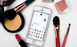 beauty emojis, fun imessage stickers, best emojis, girl emojis, makeup emojis, beaumojis, beautemojis, sephojis, lush beauty stickers, l'oreal paris stickers, fun imessage apps, beauty messaging apps