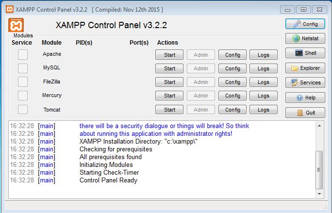 Configurando mysql xampp em windows prisma xampp12 stopboris Gallery