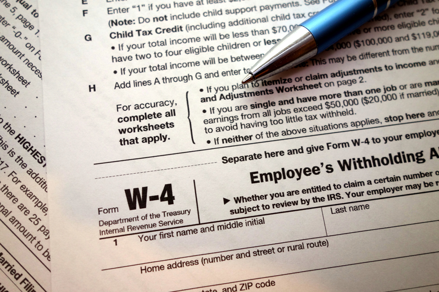 Tax withholding update USPS News Link