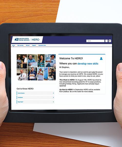 Career development USPS News Link