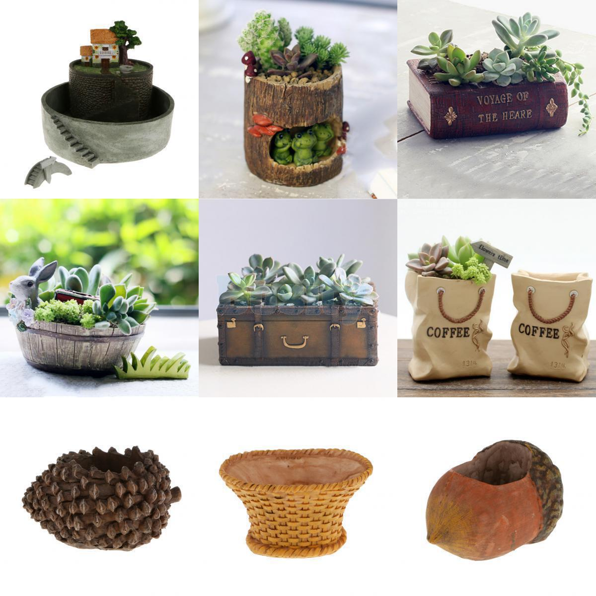 Mini Plant Pots Bulk Cute Hedgehog Patio Garden Planter Bed Herb Cacti