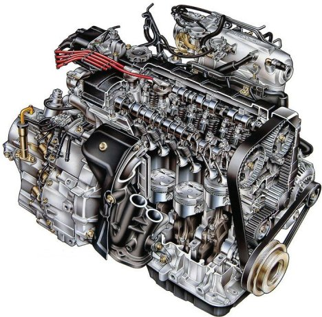 Race Car Engine