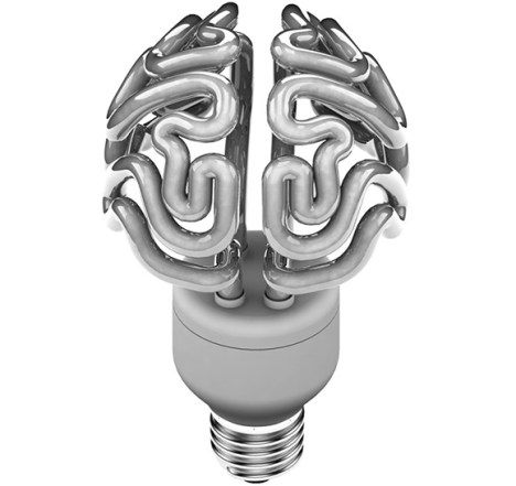 Brain Light Bulb