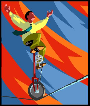Acrobatic Employee