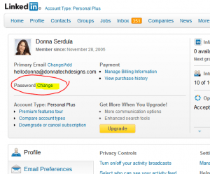 How to Change Your LinkedIn Password