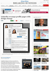 Donna Serdula's LinkedIn Makeover in the Chicago Tribune!
