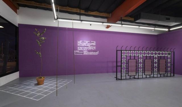 Installation view, Terror Function exhibition at 101exhibit gallery