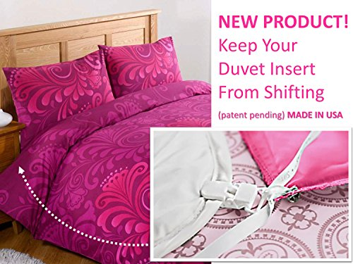 Duvet Lock Bettdecken-clips New! Duvet Clips And Sheet Fasteners- Complete Sleep Tight