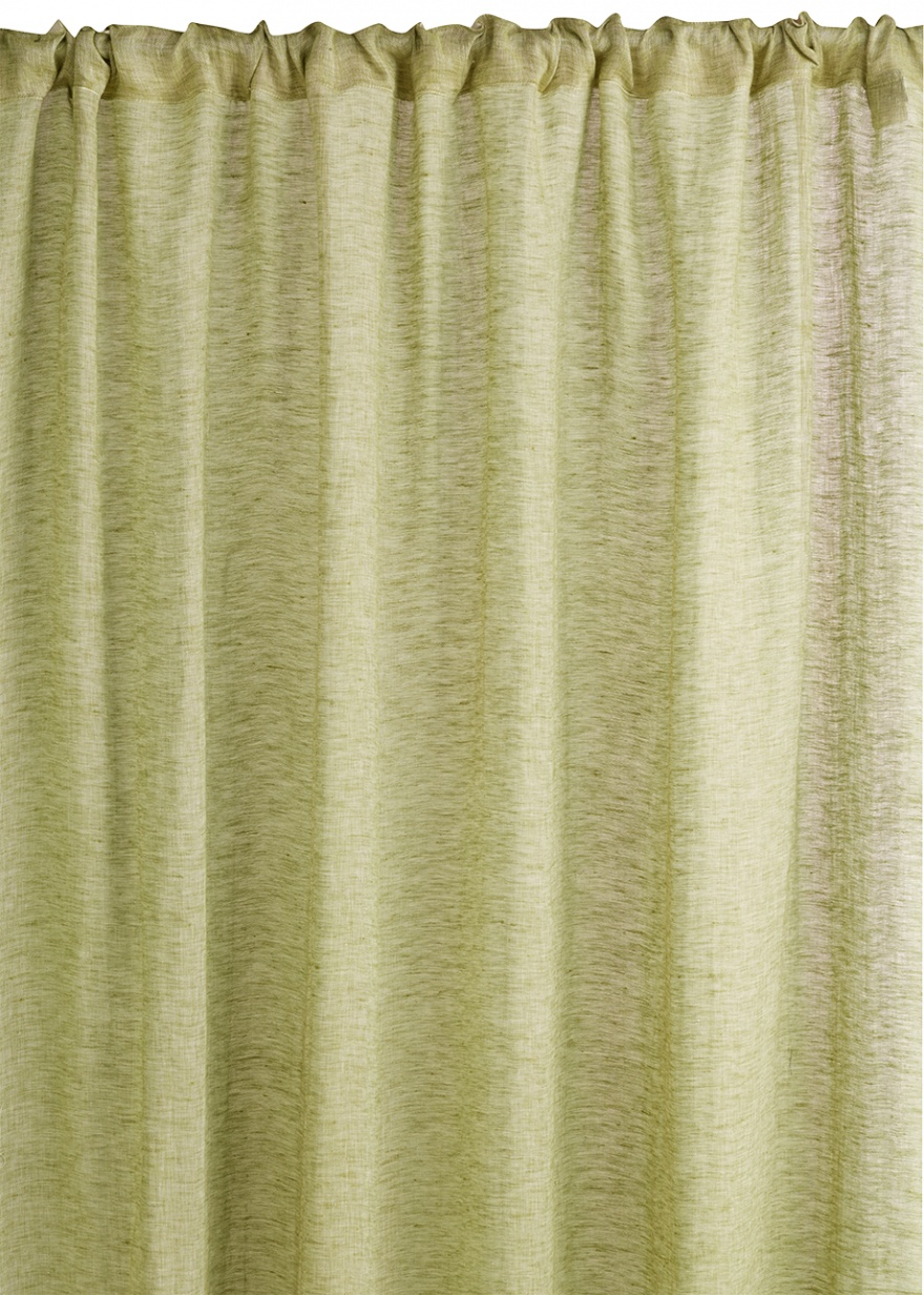 Leinen-vorhang Intermezzo Intermezzo Curtain Khaki Green