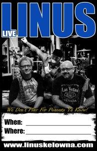 LIVE MUSIC KELOWNA | LINUS BAND KELOWNA