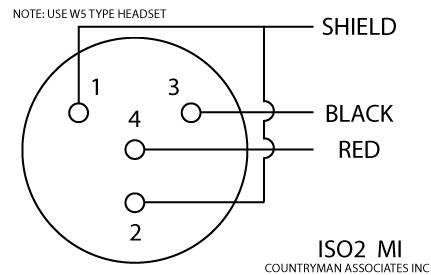 shure 4 pin mini xlr wiring diagram
