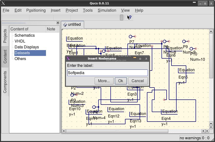 simulation electronic circuit simulation software