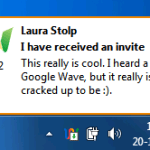 Notificador para Google Wave