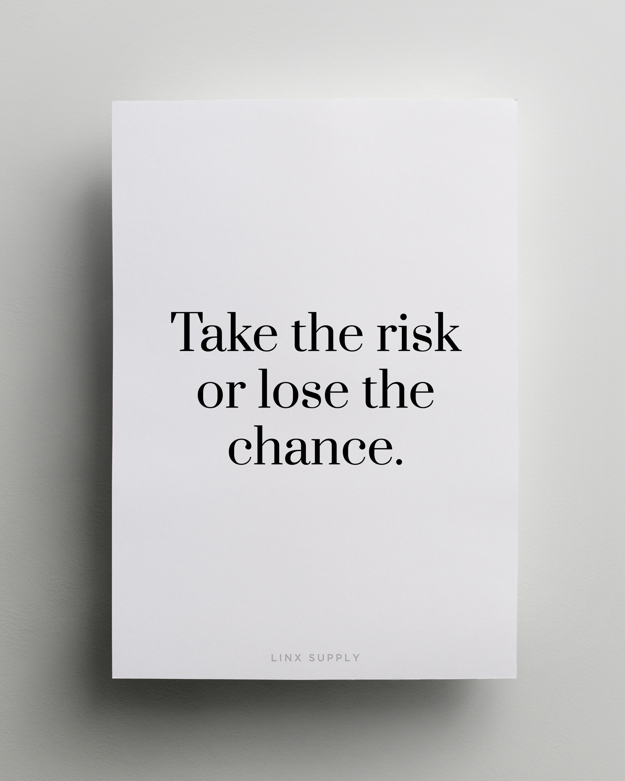 Liebessprüche Kurz Englisch Tumblr Take The Risk - Linx Supply