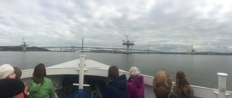 Maiden of the Forth - the new bridge!