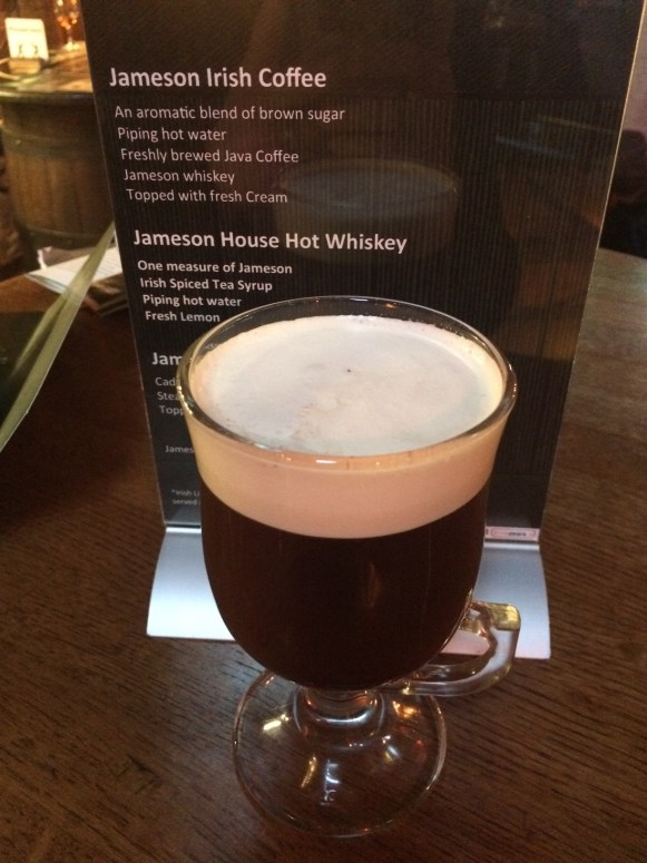 Jameson's irish coffee!