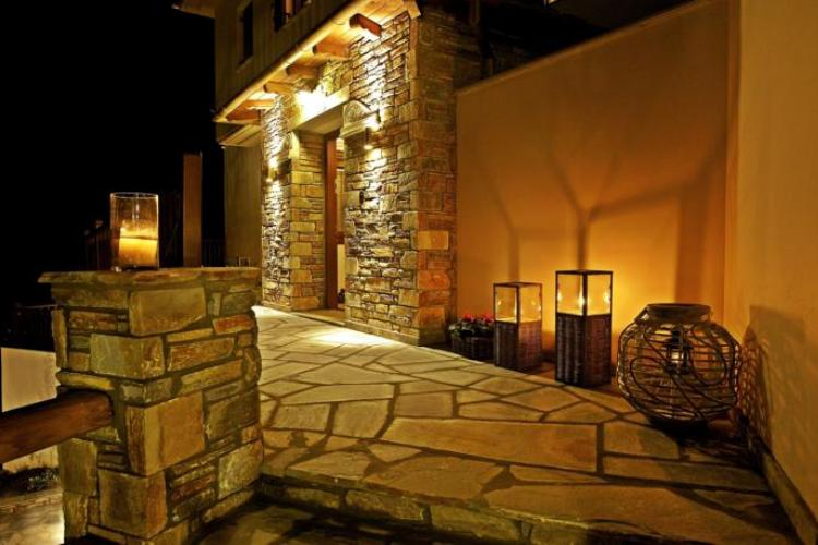 PELION HOTEL ENTRANCE - LIVE YOUR DREAM WITH US