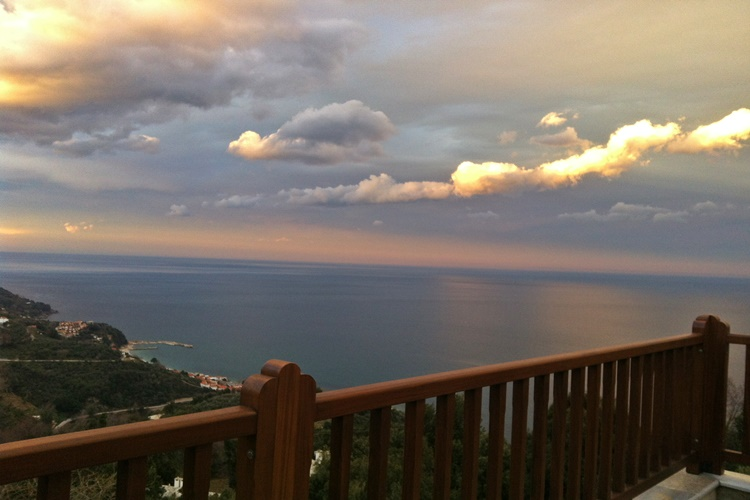 VIEW FROM LIONS NINE BALCONY - PELION HOTEL - LIVE YOUR DREAM WITH US