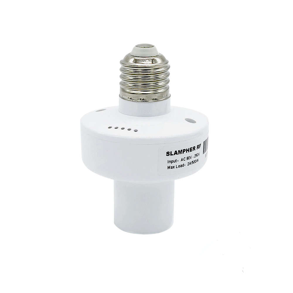 E27 Lampenfassung Sonoff Slampher 433mhz Rf Wifi Smart Light Bulb Holder E27 Lampenfassung Wifi