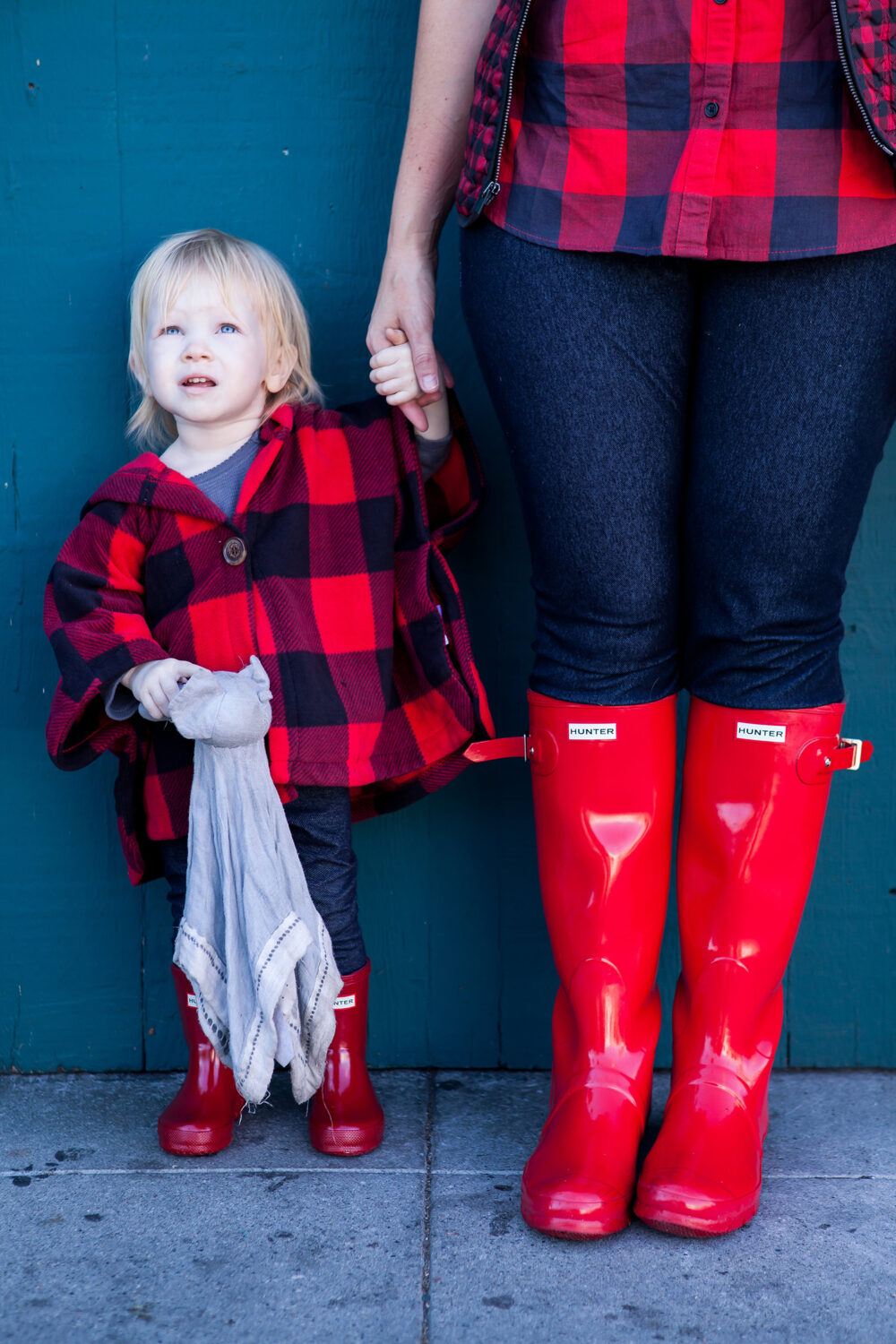Baby Toddler Rain Boots Mama Daughter Style Series How To Wear Hunter Boots