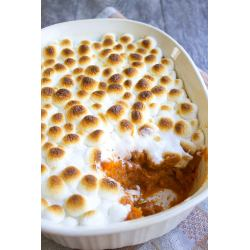 Small Crop Of Yams With Marshmallows