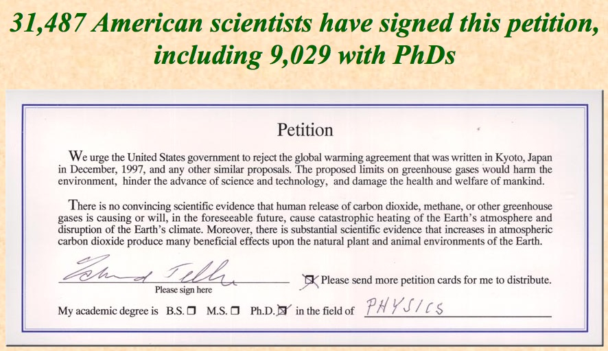 Global Warming The Unsettled Science or The Big Sell? - A Study - how to research your cause for writing the petition
