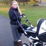 Esimene jalutuskäik-5 päeva peale sünnitust
