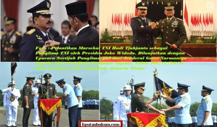 FOTO SERTIJAB PANGLIMA TNI DES 2017