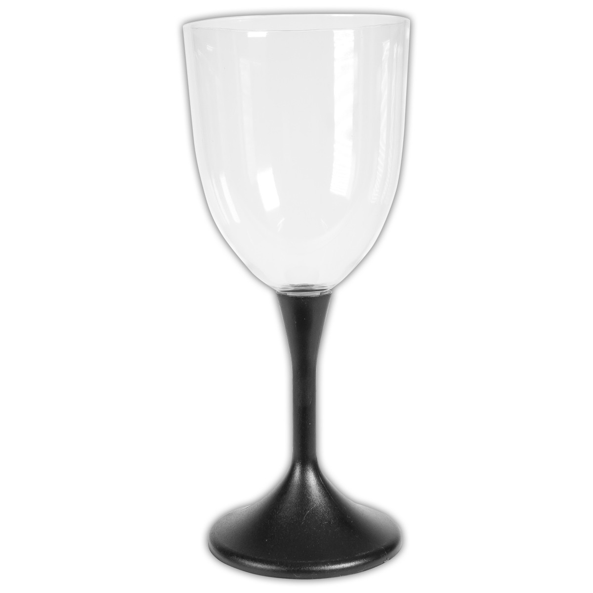 Wine Glasses With Black Stems Light Up Wine Glass With Black Stem And Clear Top 10