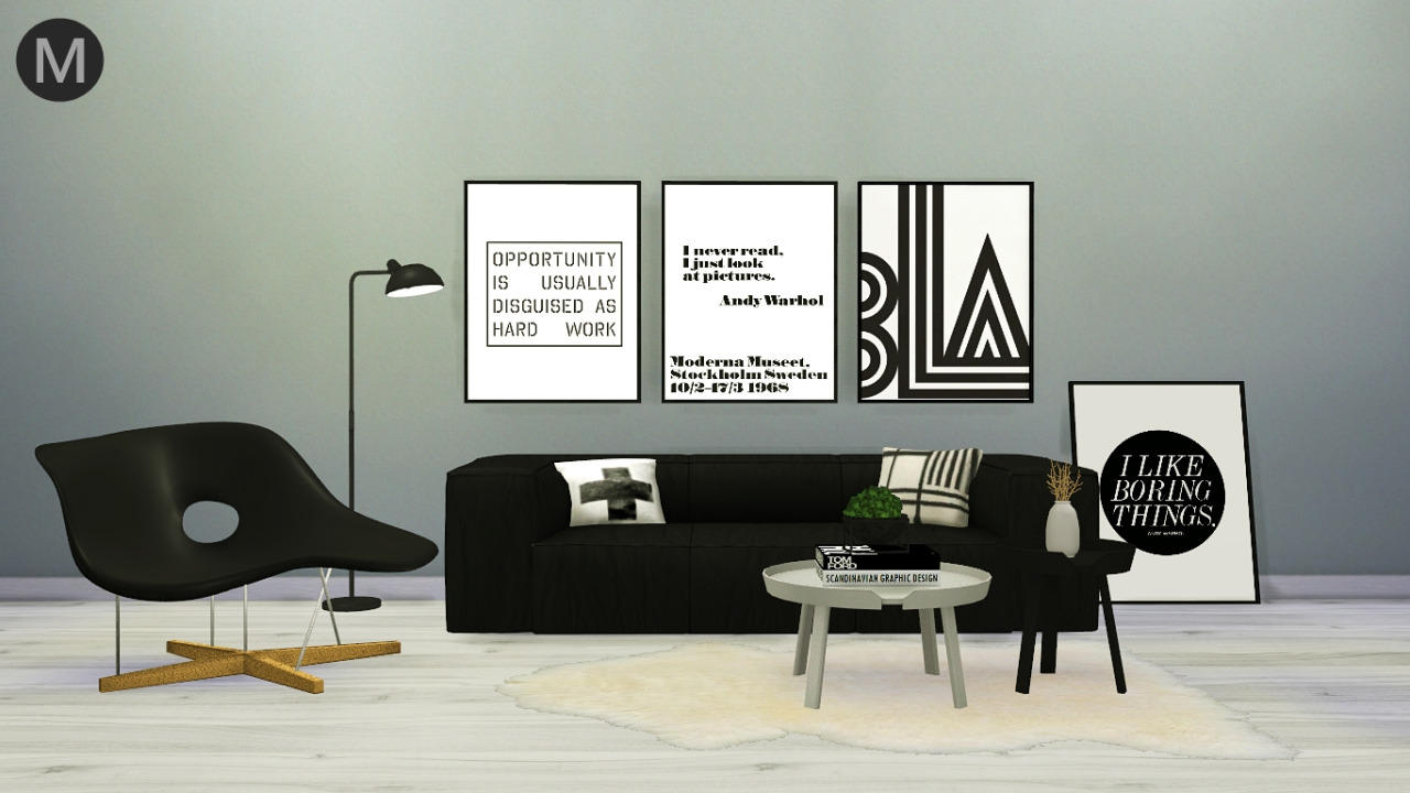 Ikea House Plants Designer Living Conversion By Maxims - Liquid Sims