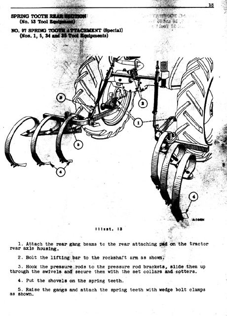 Images of Farmall Cub Owner\u0027s Manual Pages