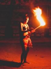 Female Fire Dancer (First I've Ever Seen!)