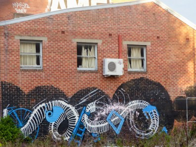 Street Art - Newcastle - October 2015 - Alley Btwn King and Hunter - Unknown